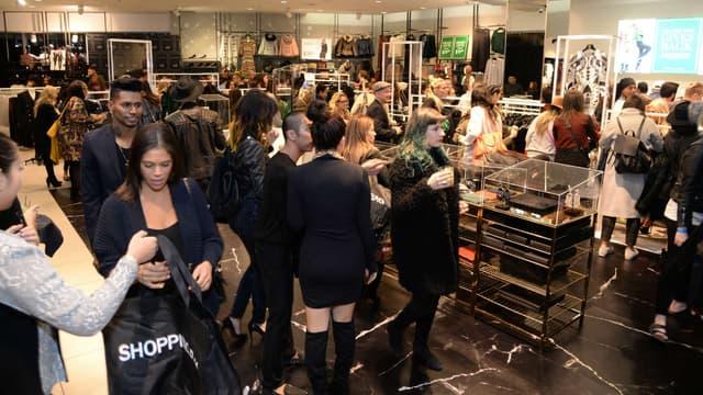 Une boutique H&M à Los Angeles ce 5 novembre.