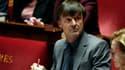 Nicolas Hulot à l'Assemblée nationale le 21 novembre 2017.