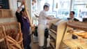 Dans une boulangerie du XVIIIe arrondissement de Paris, le 4 mai 2012.