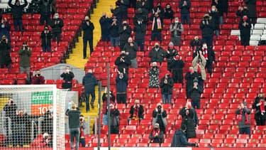 Des supporters de Liverpool à Anfield en décembre dernier