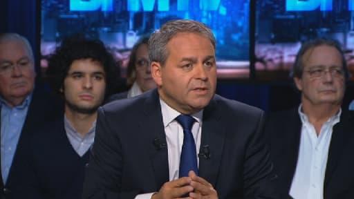 Xavier Bertand était l'invité de BFM Politique dimanche soir.