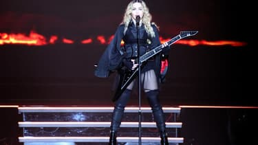 Madonna, le 16 septembre 2016 au Madison Square Garden