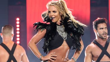 Britney Spears sur scène à Las Vegas en septembre 2016