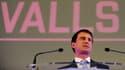 Manuel Valls en meeting à Tours, le 26 mars 2015