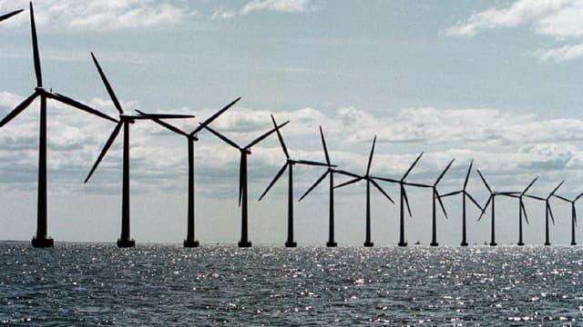 Dotée de 15 turbines, cette nouvelle ferme éolienne offshore permettra d'alimenter 50.000 foyers. (image d'illustration)