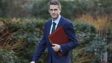 Le ministre de la Défense britannique, Gavin Williamson, à Londres le 16 janvier 2018