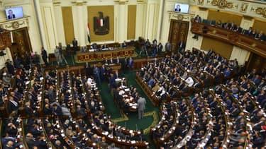 Le Parlement égyptien, en janvier 2016. (photo d'illustration)
