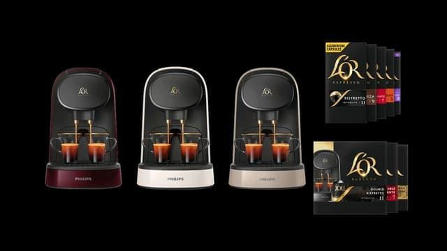 Fête des Mères : Offre exceptionnelle sur la machine à café L'OR Barista + 100 capsules