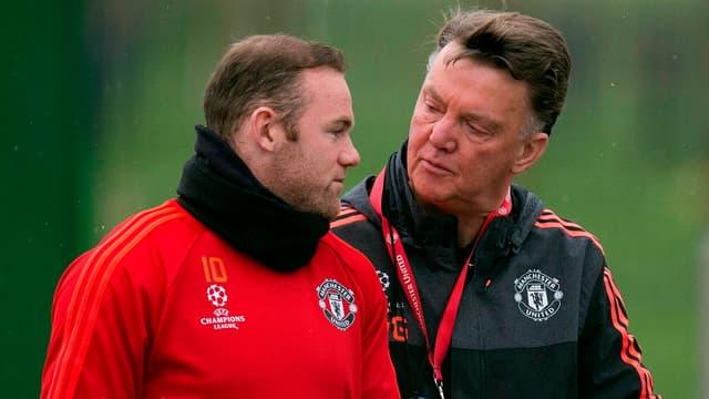 Wayne Rooney et Louis van Gaal