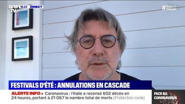 """Gérard Pont, directeur du festival Les Francofolies: """"Ça va être très dur"""" pour la ville de la Rochelle"""
