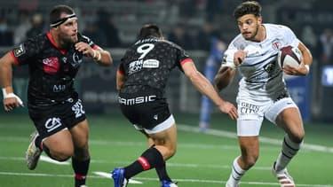 Ntamack lors de Lyon-Toulouse en Top 14