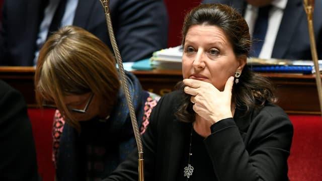 Agnès Buzyn à l'Assemblée nationale le 31 octobre 2017.