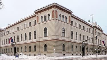 Le palais présidentiel slovène à Ljubljana, la capitale du pays.