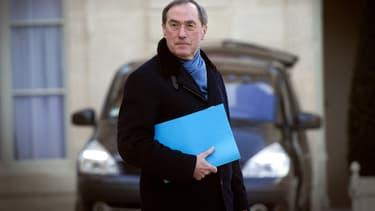 Ouverture ce lundi du procès de Claude Guéant, ici le 10 février 2012, dans l'affaire dite des primes en liquide place Beauvau.