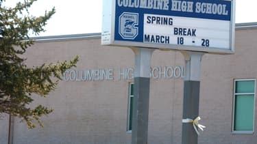 Le lycée de Columbine, dans le Colorado, en 2005.