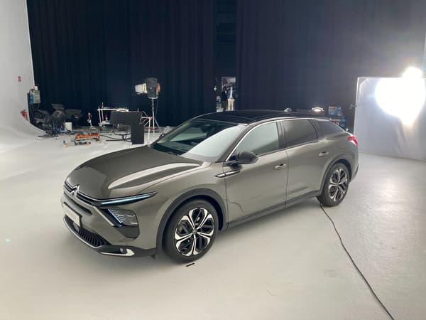 La C5X arrivera en Europe en début d'année prochaine.