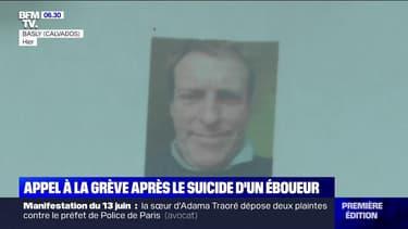 Des éboueurs appellent à la grève après le suicide de leur collègue, Stephano Patry, licencié