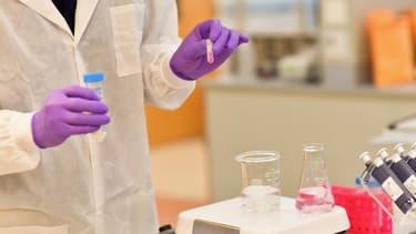Une extraction ADN dans un laboratoire à New-York (Photo d'illustration).