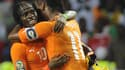 Gervinho et Didier Drogba