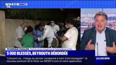 5 000 blessés, Beyrouth débordé - 06/08