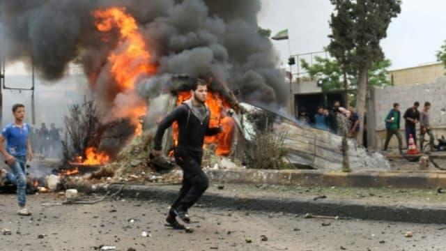 Une équipe de sécurité de l'ONU a essuyé des tirs lors d'une mission de reconnaissance à Douma en Syrie.