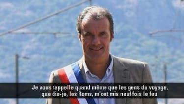 Luc Jousse, maire UMP dans le Var.