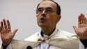 Monseigneur Philippe Barbarin, archevêque de Lyon, en décembre 2014.