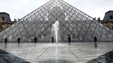La pyramide du musée du Louvre (photo d'illustration)