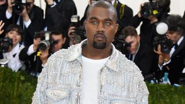 Kanye West au Met Gala le 2 mai à New York