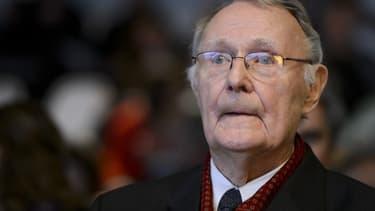 Ingvar Kamprad s'est acquitté comme citoyen suédois de ses impôts sur le revenu et du capital 2014.