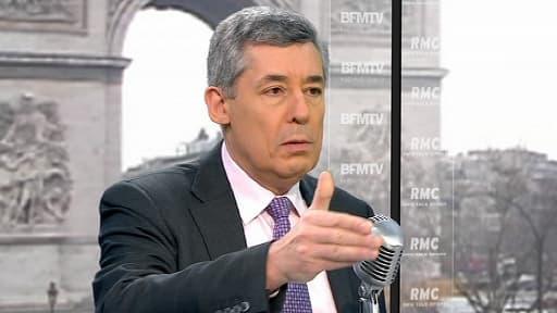 Le député UMP des Yvelines Henri Guaino le 28 mars 2013 sur BFMTV
