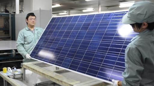 L'usine de Suntech à Wuxi, dans l'est de la Chine, fait partie des actifs rachetés par Shunfeng.