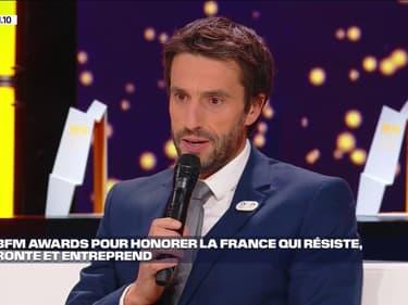 """Tony Estanguet: """"on a une occasion unique de faire rayonner la France"""" avec les JO de Paris de 2024"""
