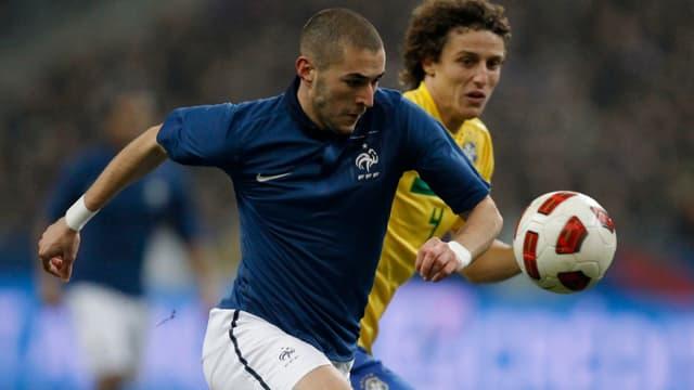 Karim Benzema et David Luiz