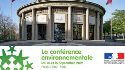 Ouverture de la conférence environnementale ce vendredi