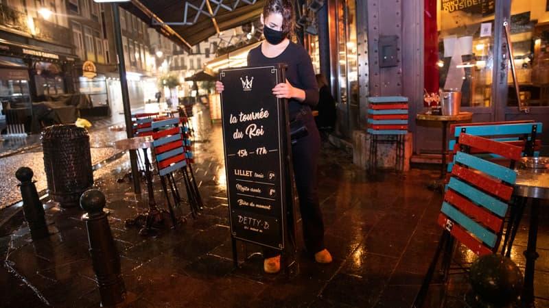 cafés et restaurants ouverts en intérieur à partir de mercredi