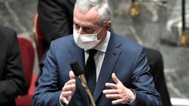Bruno Le Maire à l'Assemblée le 3 novembre 2020
