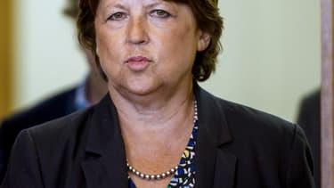 Martine Aubry, le 8 septembre 2014.