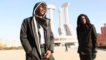 Pacman et Peso, deux rappeurs américains, ont fait un voyage en Corée du Nord en novembre dernier.