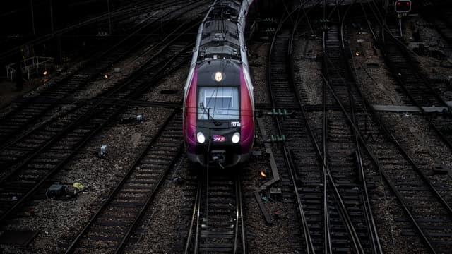 Un RER en circulation.