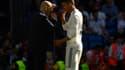 Zinedine Zidane et Raphaël Varane