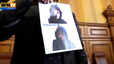 La police a diffusé une photo de l'auteur présumé des menaces grâce à la caméra-surveillance du cybercafé.