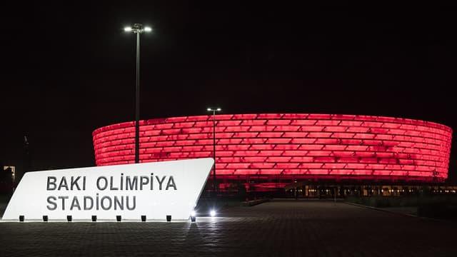 Le stade olympique de Bakou où se déroulera la finale de la Ligue Europa