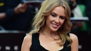 Kylie Minogue à Londres en mai 2015