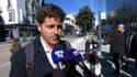 Julien Bayou en Savoie le 30 septembre 2021.
