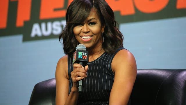 Michelle Obama lors d'une conférence SXSW le 16 mars 2016