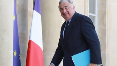 Le président du Sénat Gérard Larcher le 17 avril 2019 à l'Élysée.