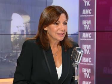 Anne Hidalgo sur BFMTV le 21 septembre.