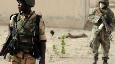 Des soldats patrouillent dans l'Etat de Borno - Photo d'illustration - AFP