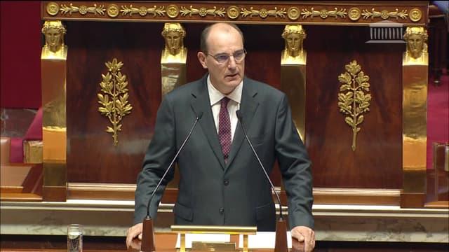 Jean Castex, à l'Assemblée nationale le 15 juillet 2020.